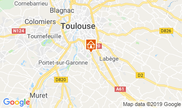 Map Toulouse Apartment 119484