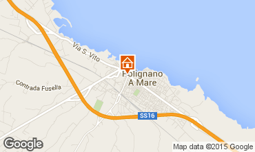 Map Polignano a Mare Apartment 60990