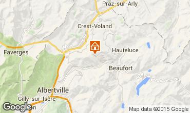 Map Les Saisies Apartment 66491