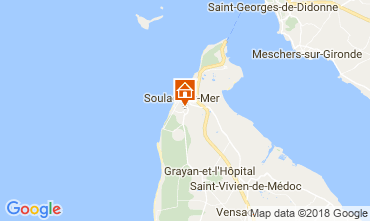 Map Soulac Apartment 115930