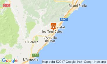 Map La Ametlla de Mar Villa 39221