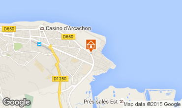 Map Arcachon Villa 96642