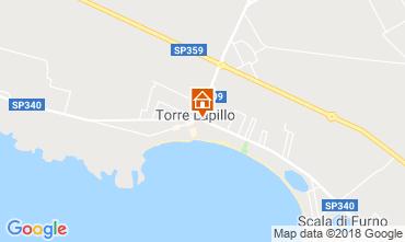 Map Torre Lapillo Apartment 116528