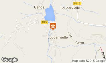 Map Loudenvielle Chalet 4356