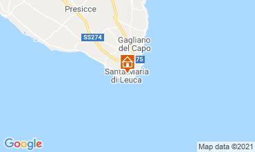 Map Santa Maria di Leuca Apartment 65510
