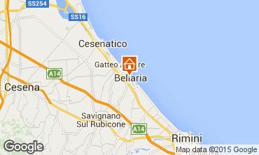 Map Bellaria Igea Marina Apartment 79298