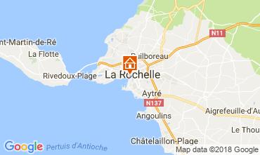 Map La Rochelle Apartment 69535