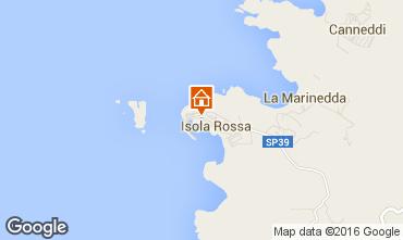 Map Isola Rossa Apartment 102560