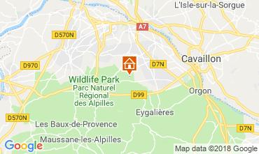 Map Saint Rémy de Provence Vacation rental 98340