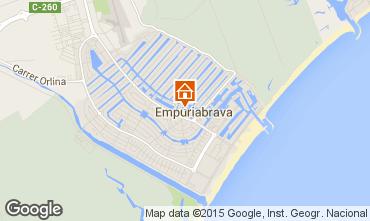 Map Empuriabrava House 68928