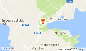 Map Porto Azzurro One-room apartment 108721