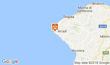 Map Capo Vaticano Villa 113093