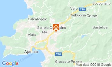 Map Ajaccio One-room apartment 40805