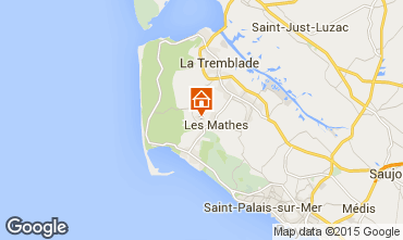 Map La Palmyre Mobile home 101256