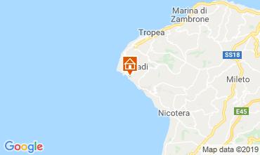 Map Capo Vaticano Apartment 98854