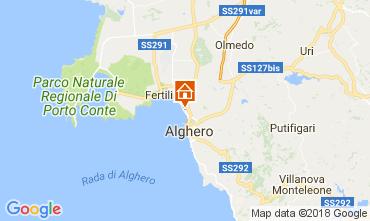 Map Alghero Apartment 106988