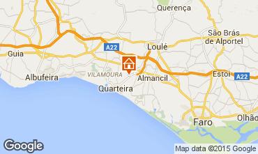Map Quarteira Apartment 95376