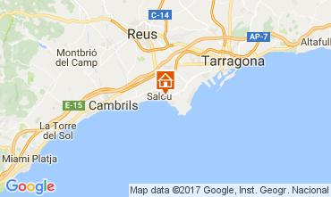 Map Salou Apartment 112156