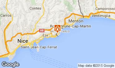Map Monaco One-room apartment 97091