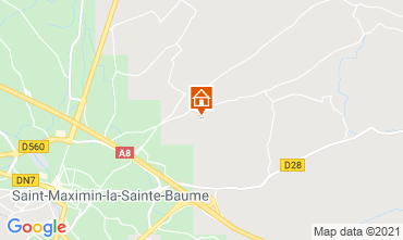Map Saint Maximin la Sainte Baume Villa 112385