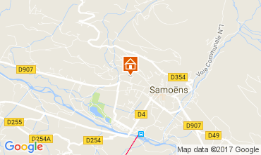 Map Samoëns One-room apartment 112473