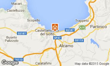 Map Castellammare del Golfo Villa 94839