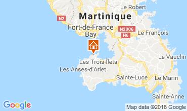 Map Trois Ilets Apartment 116711