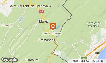 Map Les Rousses Apartment 3748