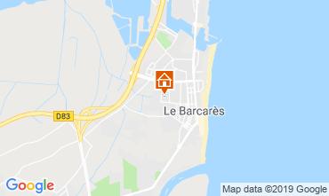 Map Le Barcares Villa 93839