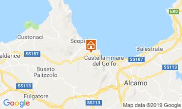 Map Scopello Villa 117671