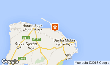 Map Djerba Villa 78118