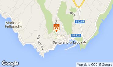 Map Santa Maria di Leuca Apartment 30063