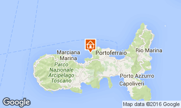 Map Portoferraio Apartment 85998