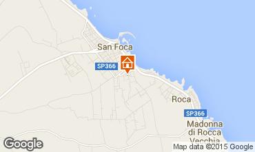Map San Foca Apartment 55722