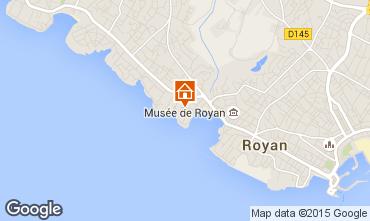 Map Royan Apartment 99042