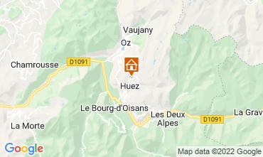 Map Alpe d'Huez Apartment 82325