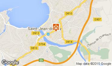 Map Saint Jean de Luz One-room apartment 88053