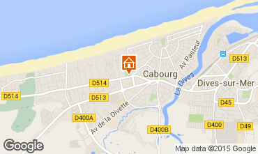Map Cabourg House 10768