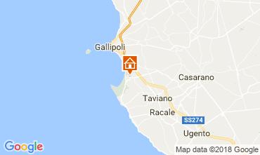 Map Gallipoli Villa 113878