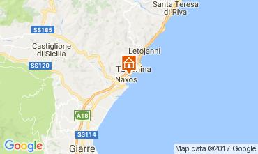Map Giardini Naxos One-room apartment 47573