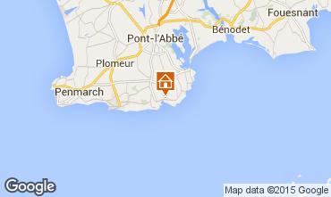 Map Plobannalec-Lesconil House 7352