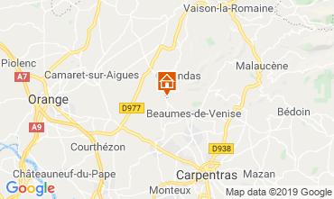 Map Vaison la Romaine Apartment 119300