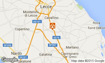 Map Lecce Apartment 57535