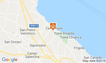 Map Santa Cesarea Terme Villa 40736