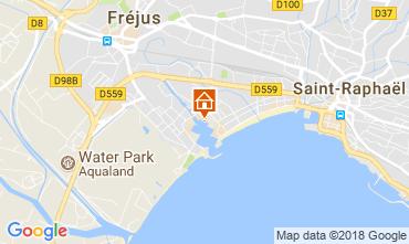 Map Fréjus Apartment 115926