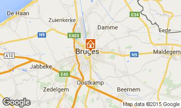 Map Bruges House 68118