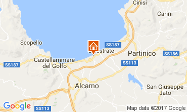 Map Balestrate Villa 44071