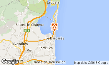 Map Le Barcares House 74454