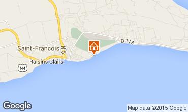 Map Saint Francois Apartment 39298