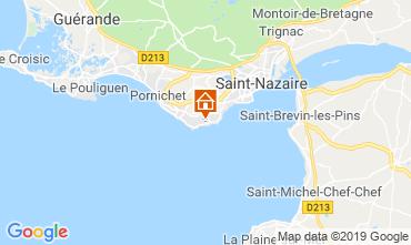 Map Saint Nazaire Apartment 118127